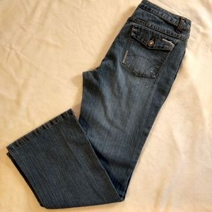 Arizona Jeans Co. Embellished Boot Cut Jeans